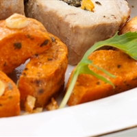 Yams with Crispy Skins and Brown-butter Vinaigrette