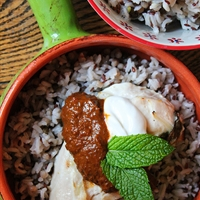 Yogurt Marinated Chicken with Harissa and RiceSelect™ Royal Blend® Rices