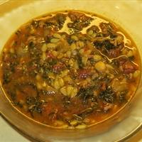 Zenga Soup (healthy, ground beef)