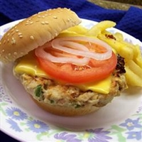 Zesty Turkey Burgers
