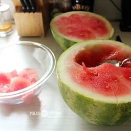 Watermelon Cucumber Slushie