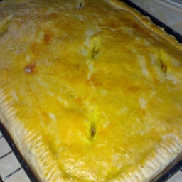 Chicken Pie with Vegetables