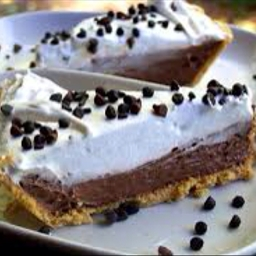 5 Minute Double Layer Chocolate Pie