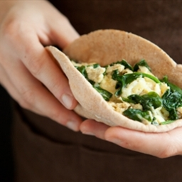A Better Breakfast Pita Pocket
