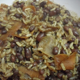 Adzuki Beans with Brown Rice