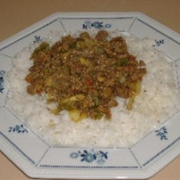 African Beef Curry