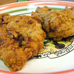 Alton Brown Fried Chicken