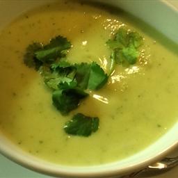 Alvocado Cauliflower Cream Soup