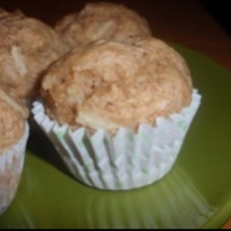 Apple Cinnamon Muffins (eggless)