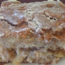 Nerdy Baker's Apple Fritter Cake