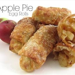 Apple Pie Egg Roll