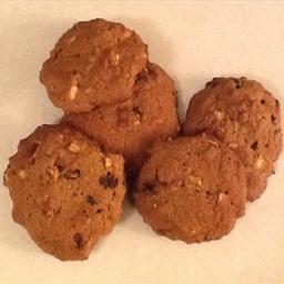 Apple Raisin Drop Cookies