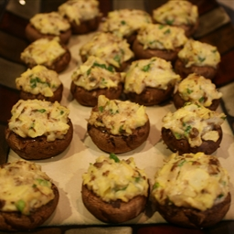 Artichoke-Stuffed Mushrooms