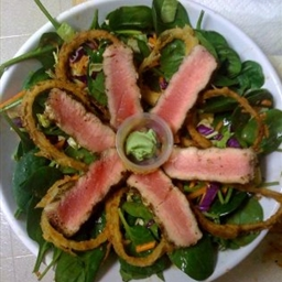Asian Sesame Salad with Seared Ahi Tuna