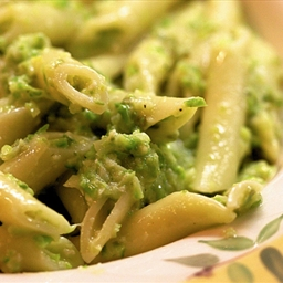 Asparagus Pesto with Penne Pasta