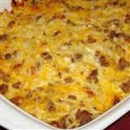 Authentic Amish Breakfast Casserole