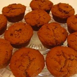 Autumn Pumpkin Molasses Muffins