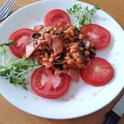 Bacon & Beans Breakfast