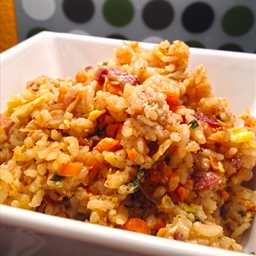 Bacon & Garlic Fried Rice