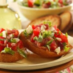 Bacon, Lettuce and Tomato Brushetta