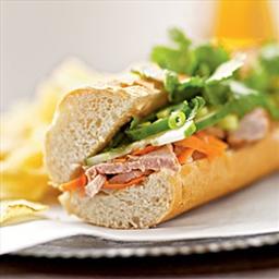 Bahn Mi (Vietnamese Grilled Pork Sandwich)