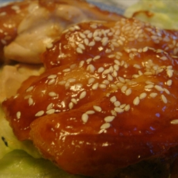 Baked Chicken in Hoisin & Char Siew Sauce