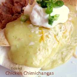 Baked Chimichanga