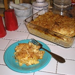 Baked Macaroni and Smoked Cheese