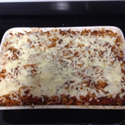 Baked Macaroni & Beef Casserole Weight Watcher Recipe