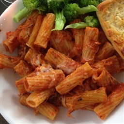 Baked Ziti (1/2 size version)