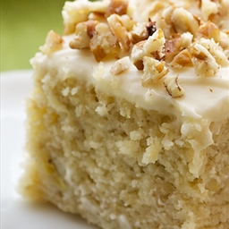 Bake or Break's Banana Cake with Cream Cheese Frosting