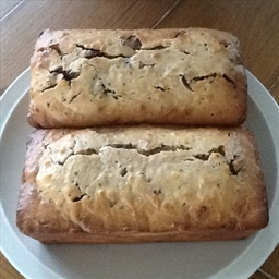 Banana Chocolate Peanut Butter Bread