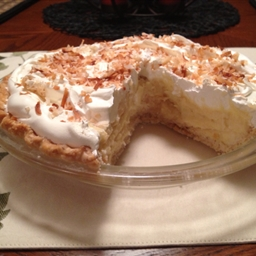 Banana Or Coconut Cream Pie