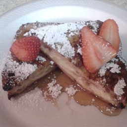 Banana Stuffed French Toast