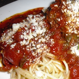 Barb's Spaghetti Sauce (with Meat)