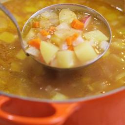 Basic Mexican Vegetable Soup (Molli Morelos sauce)