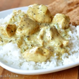 Mel's Kitchen Cafe Basil Chicken in Coconut Curry Sauce