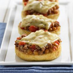 Beany Mini Pizzas