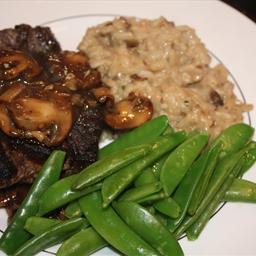 Beef- Sherry Mushroom Sauce