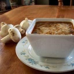 Beefy Mushroom Soup