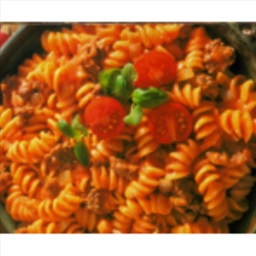 Beefy Pasta Skillet