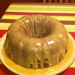 Beer Cake With Caramel Frosting
