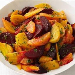 Beets with Orange Vinaigrette