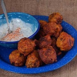 Bhajia (indian Vegetable Fritters)