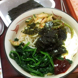 Bibimbap (both Vegetarian and Meaty Versions!)