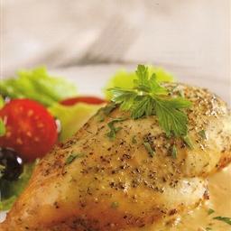 Bistro Chicken in Rich Cream Sauce
