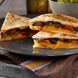 Black Bean and Cheese Quesadillas