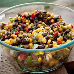 Black Bean, Corn & Red Pepper Salsa