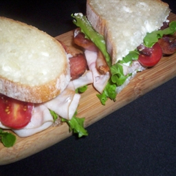 Blue Maple Club Sandwich