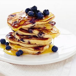 Blueberry & Buckwheat Pancakes